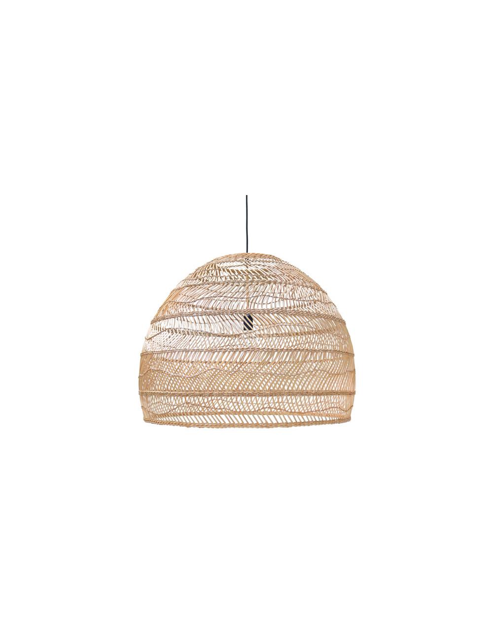 Rieten Hanglamp Bol Large - Naturel