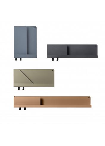 Folded Shelf Medium Wandplank 51x22cm - Lichtgrijs