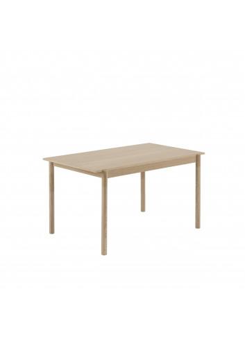 Houten Eettafel Linear Wood | eik 140x85cm