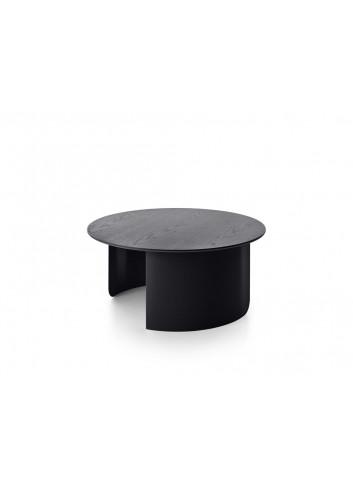 Plateau ronde salontafel | zwart