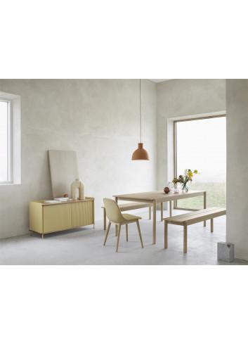 Houten Zitbank Linear Wood | eik 110x34cm