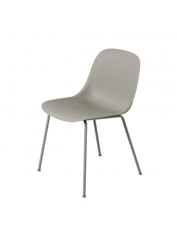 Showroommodel Stoel Fiber Side Chair Tube | grijs/metalen poten