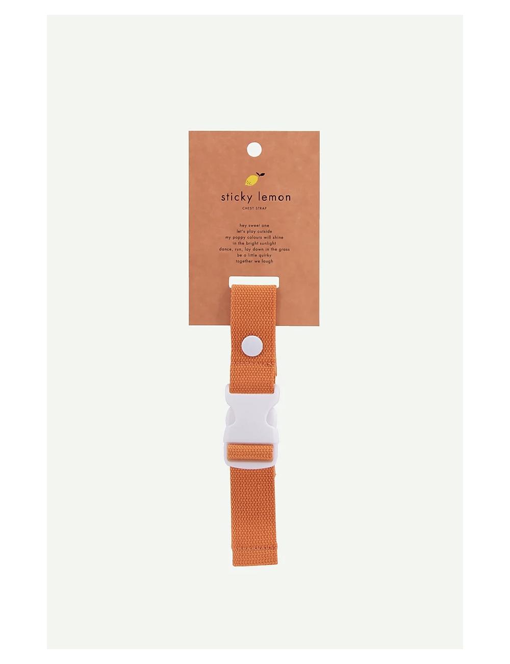 Verstelbaar riempje Wanderer | carrot orange