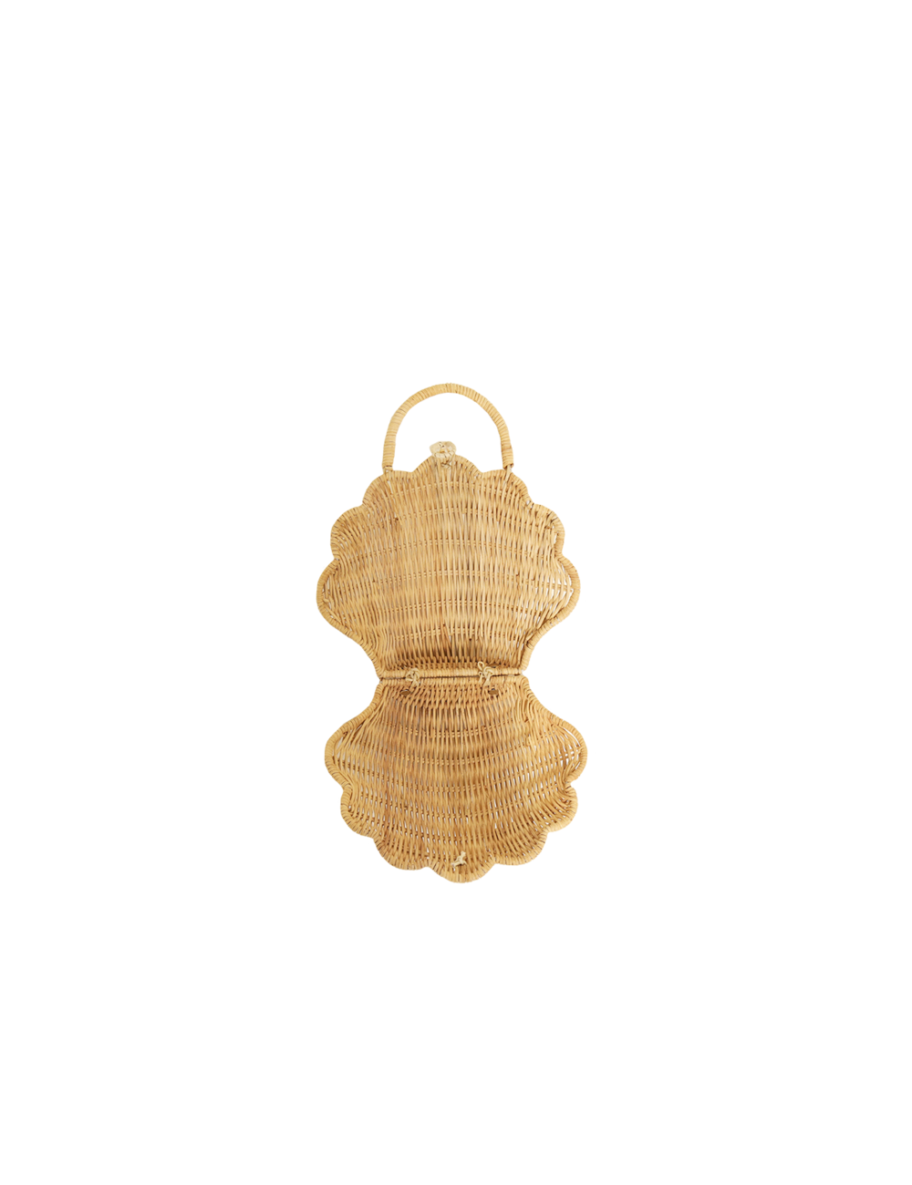 Handtas Shell Purse | straw