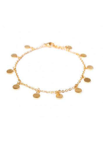 Armbandje Mini Label | goud
