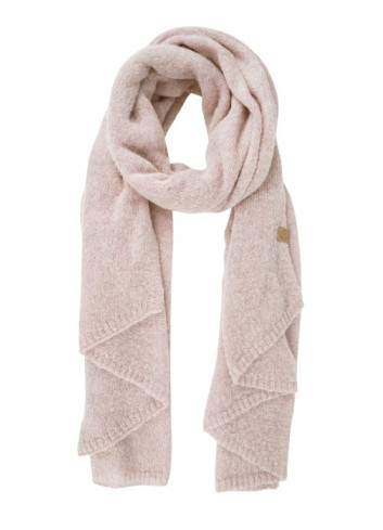 Warme brei sjaal | poederroze