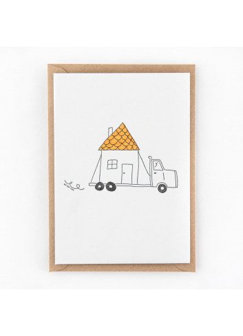 Wenskaart | buying a house