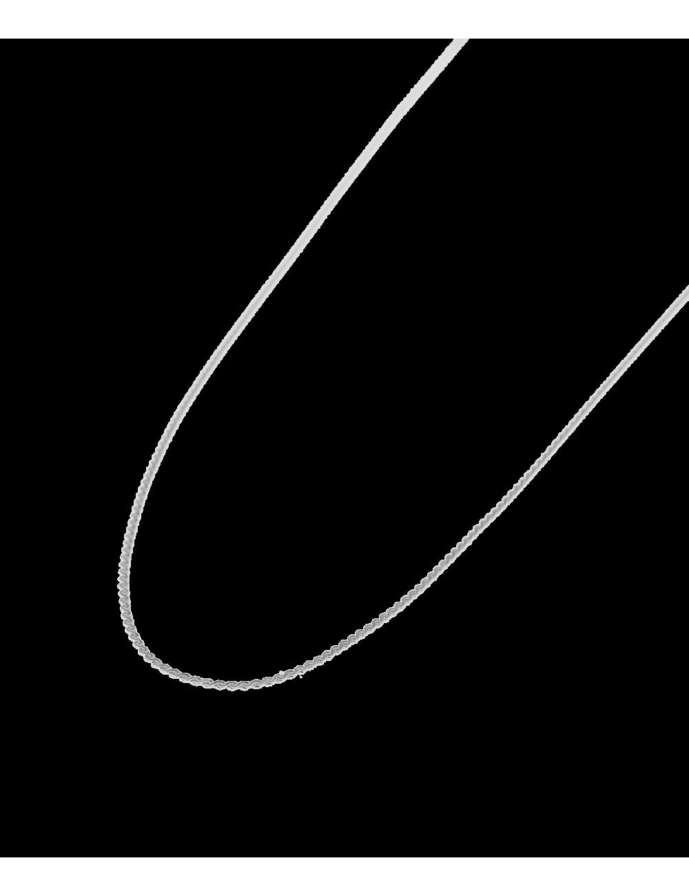 Choker Mini Braid   zilver