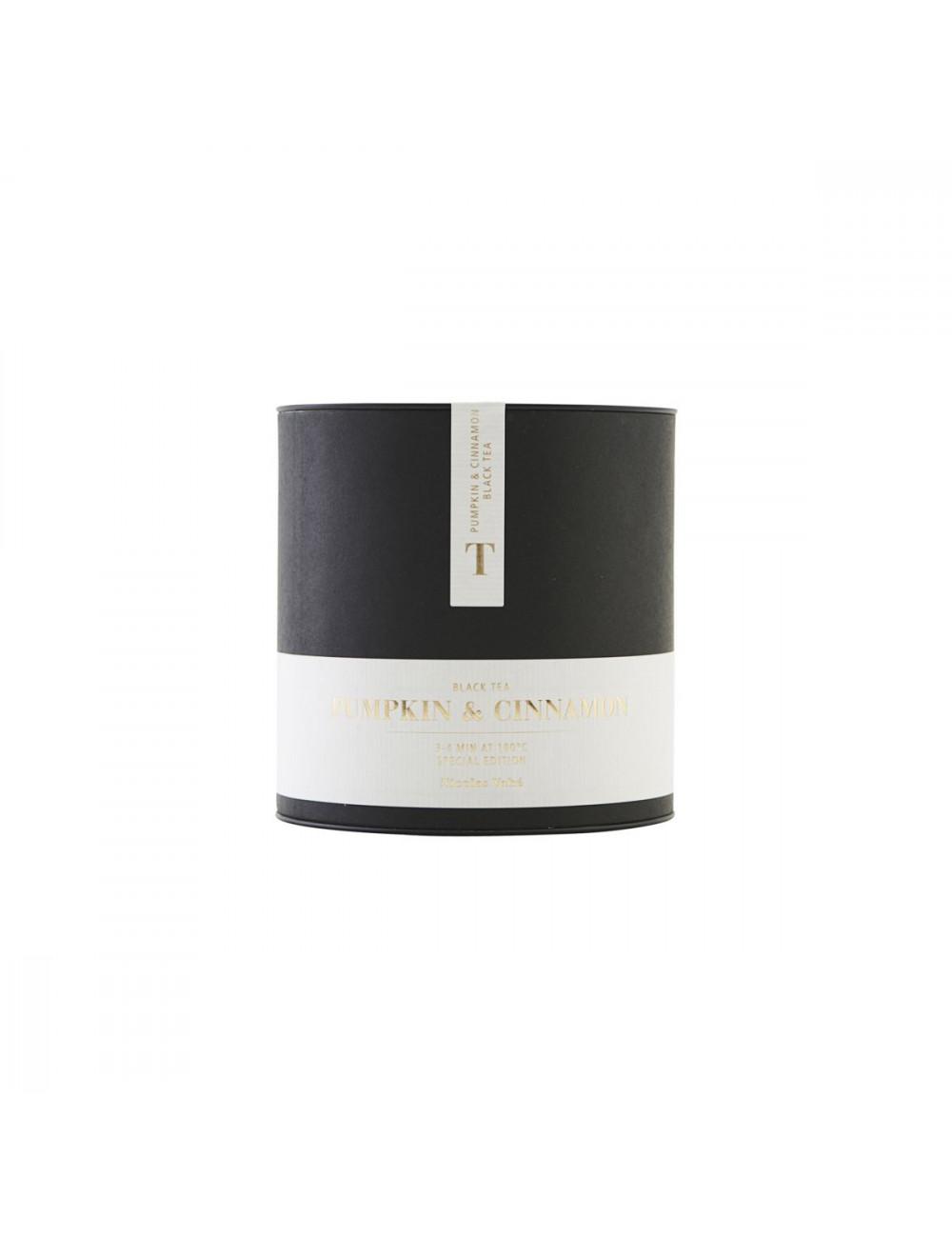 Zwarte Thee | pompoen en kaneel/100 g
