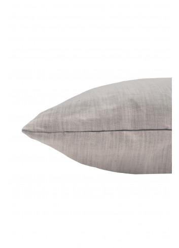 Kussen met jou is alles leuker 45x45cm | warm grijs