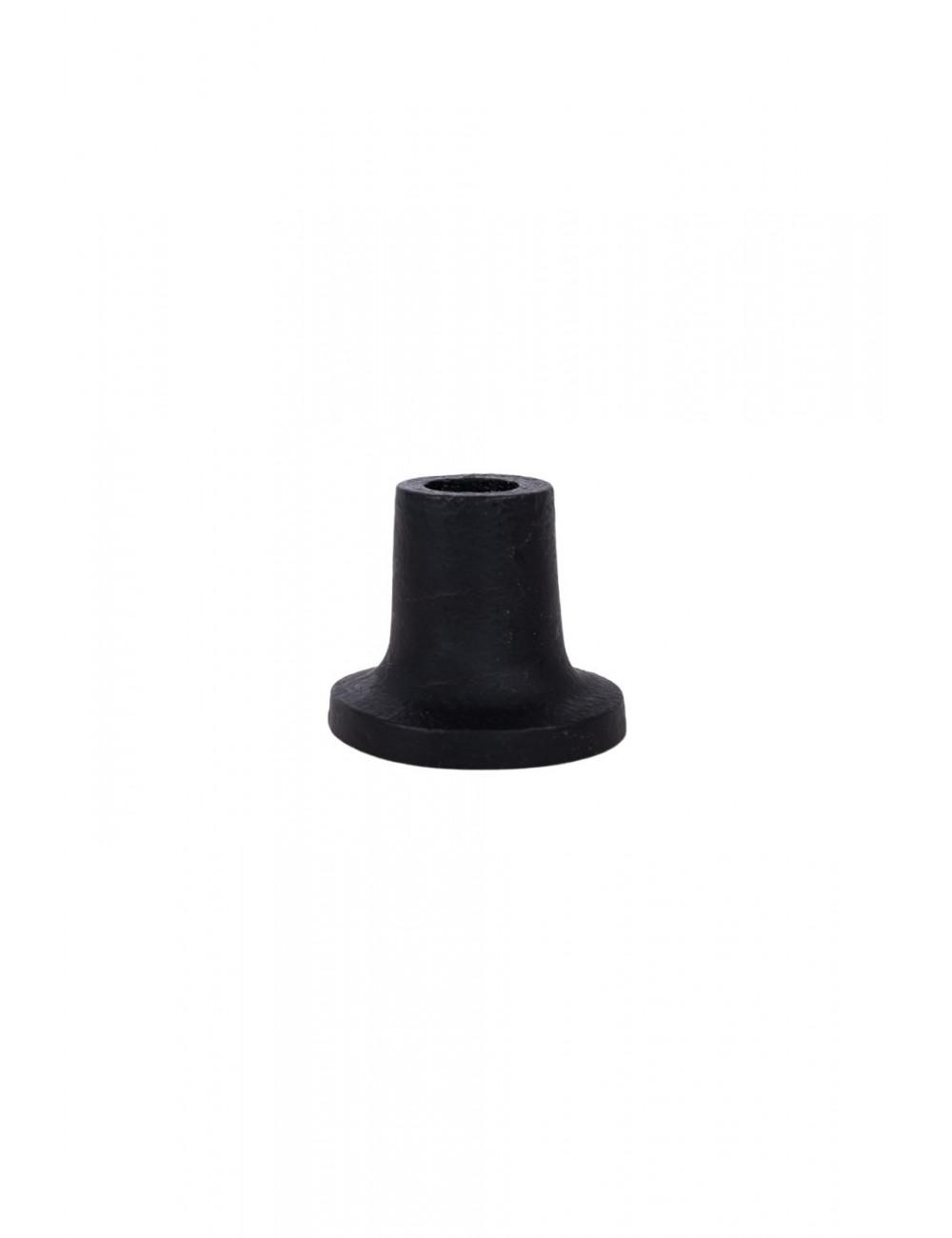 Klein kandelaartje  mat zwart