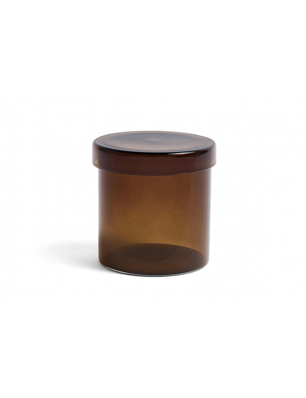 Voorraadpotje   large bruin