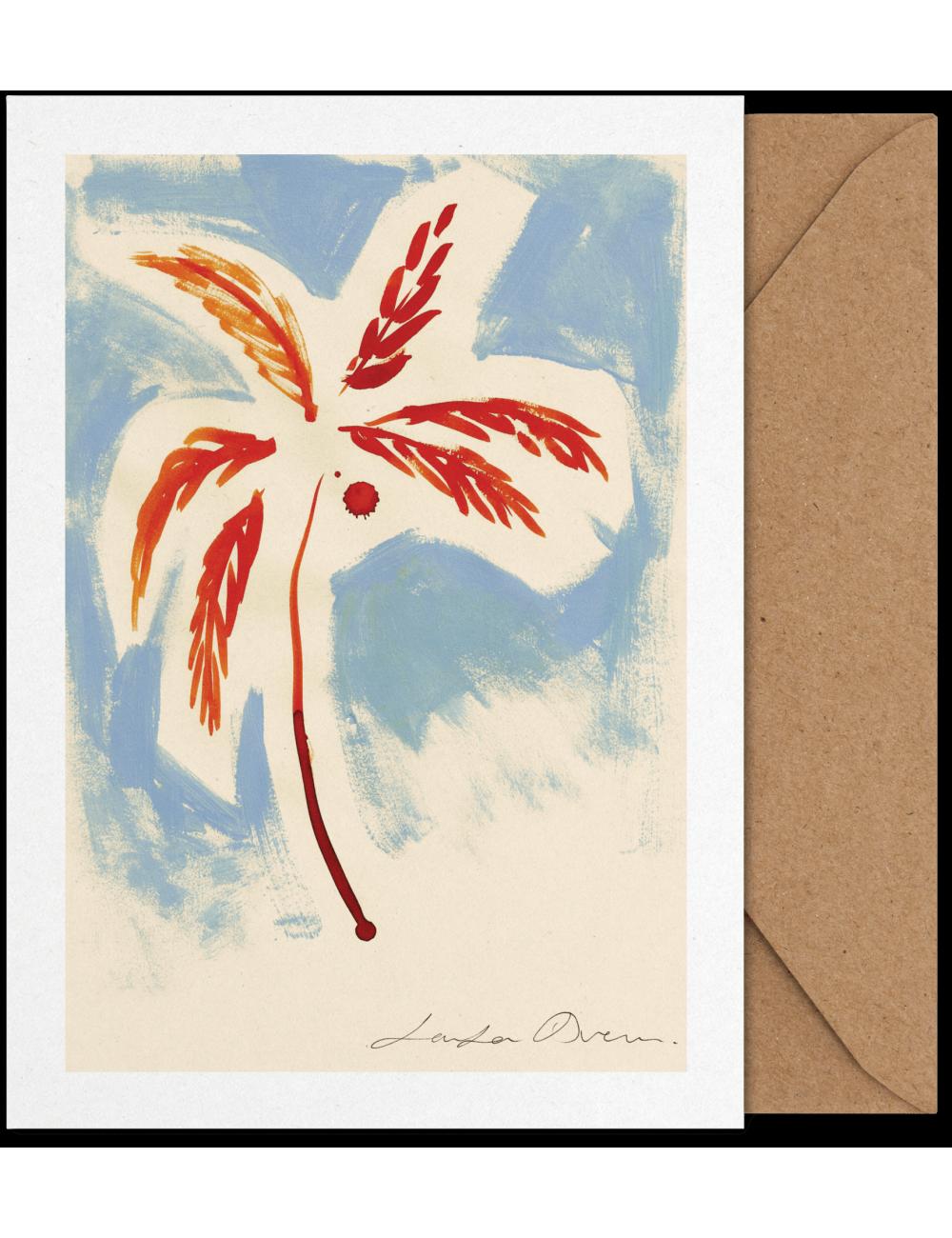 Art Card - Stormy Palm (A5)