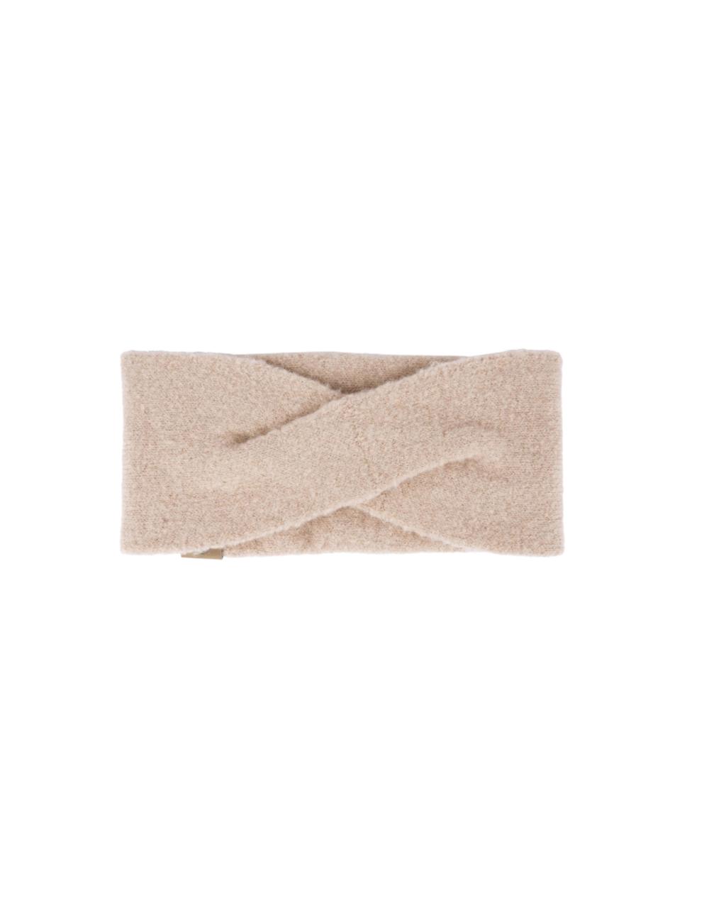 Warme haarband   zand