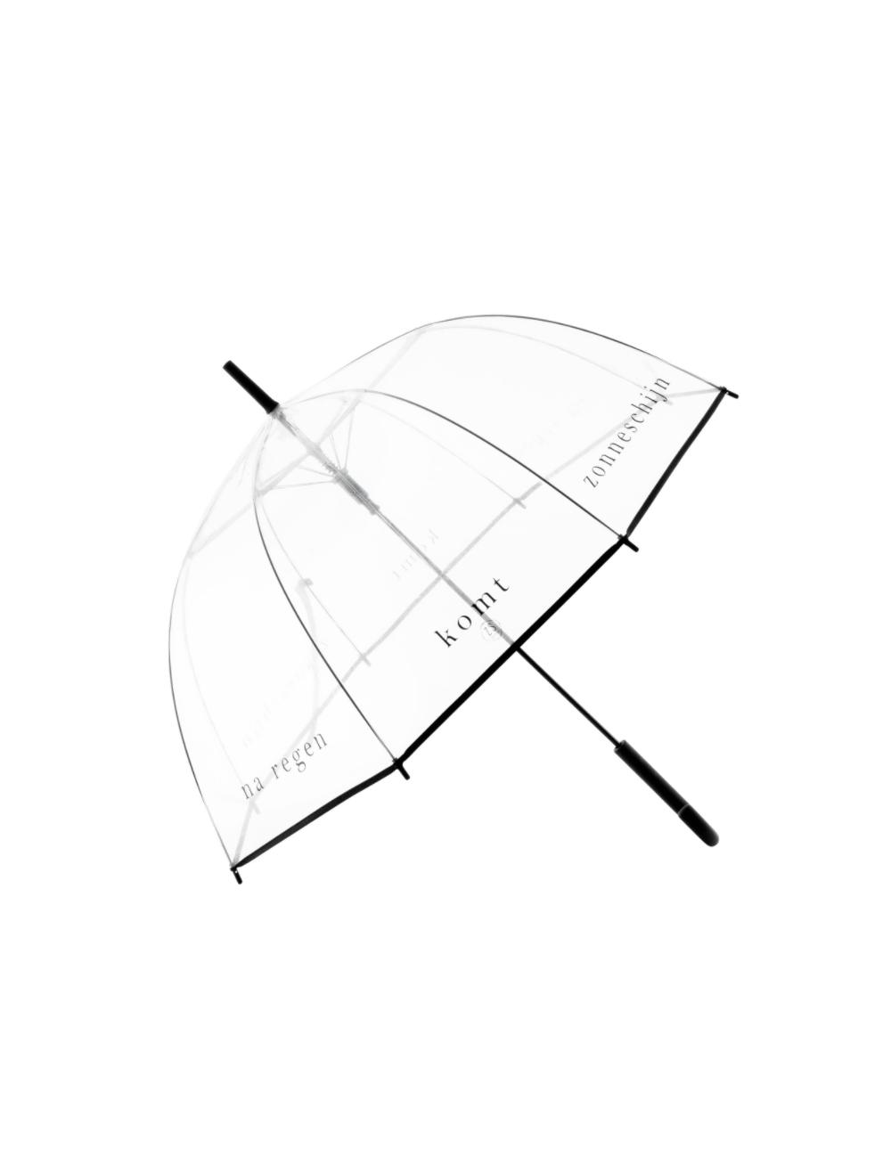 Paraplu   na regen komt zonneschijn