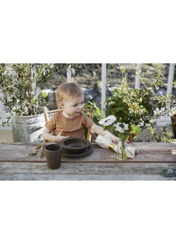 Eetset voor kinderen (3delig) - Chocolate