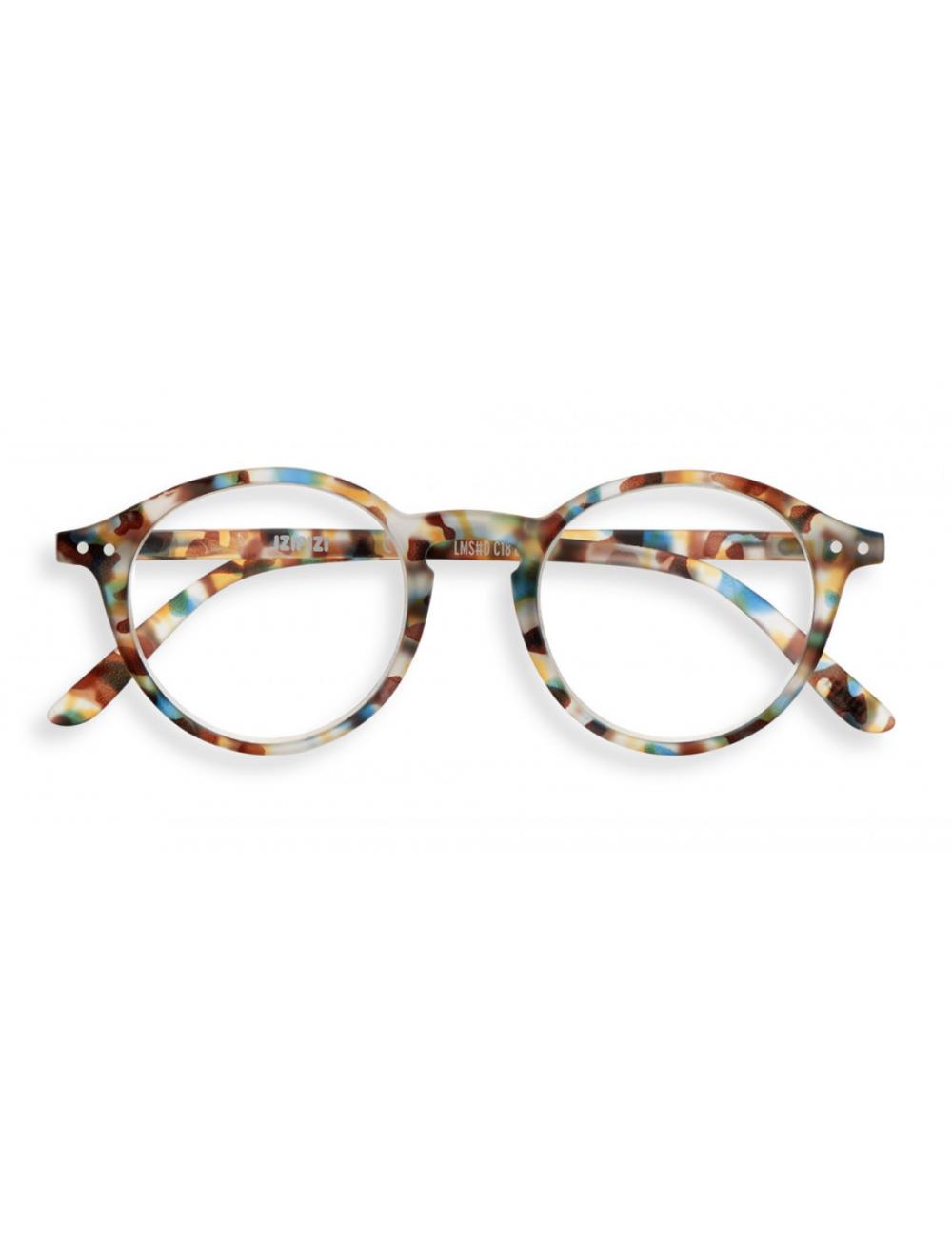 Leesbril #D | blue tortoise