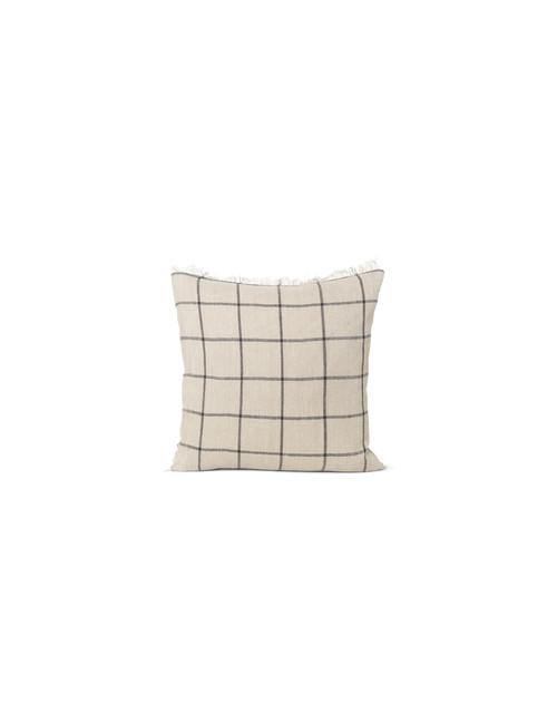 Kussen Calm Cushion 50x50cm | camel/zwart