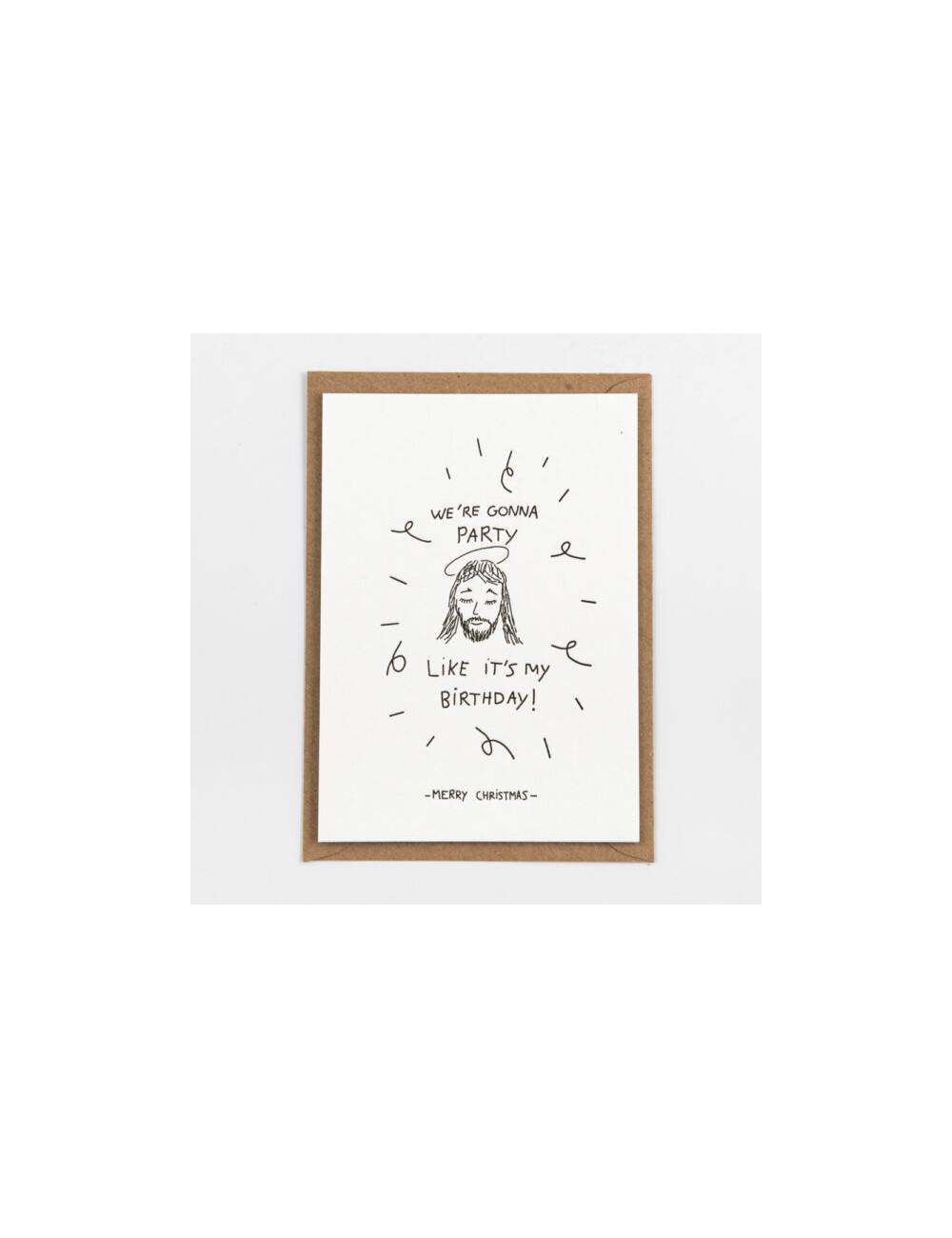Wenskaart | jezus birthday