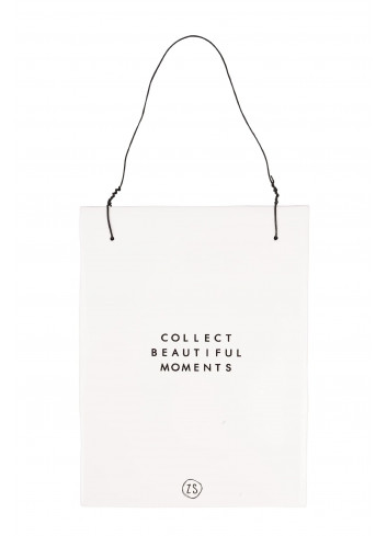 Teksttegeletje | collect moments