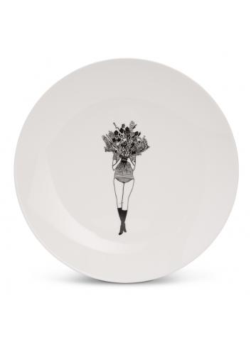 Ontbijtbord | flower girl