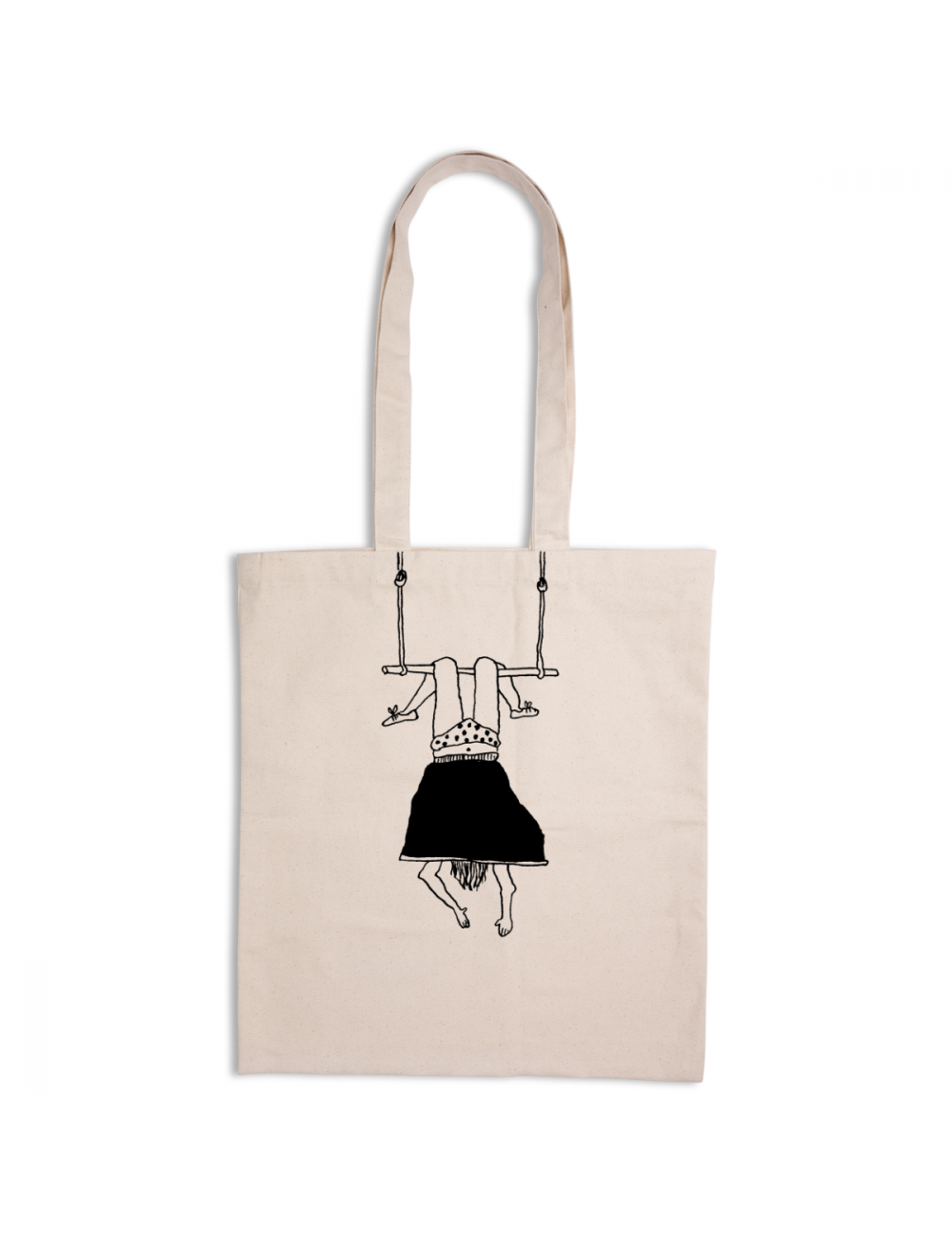 Tote Bag | trapeze girl