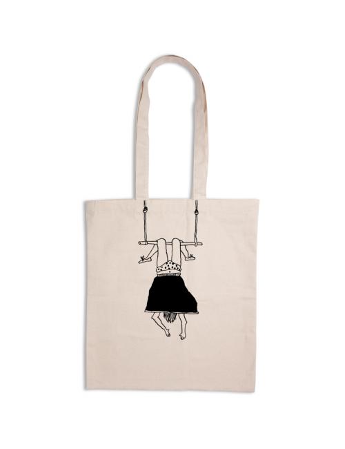 Tote Bag   trapeze girl