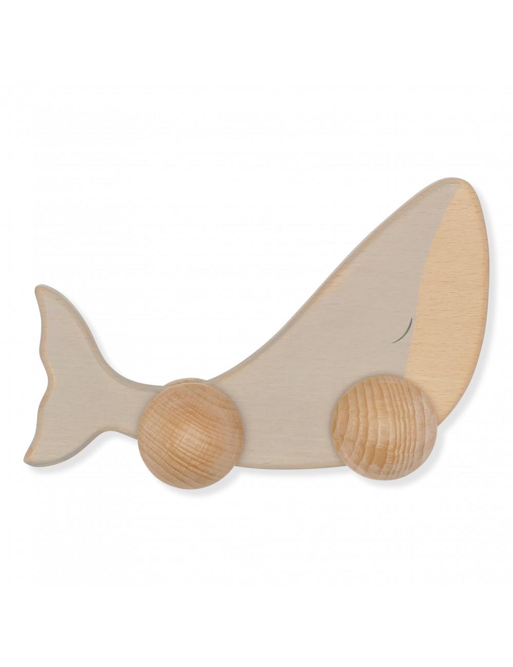 Speelgoed | walvis op wieltjes