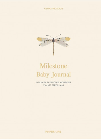 Boek | milestone baby journal