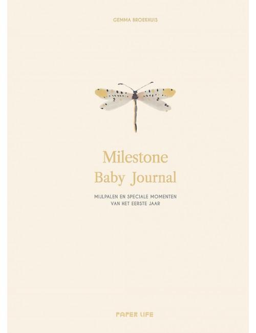Boek | milestone baby journal