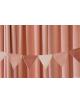 Vlaggenlijn Bahia Garland | roze