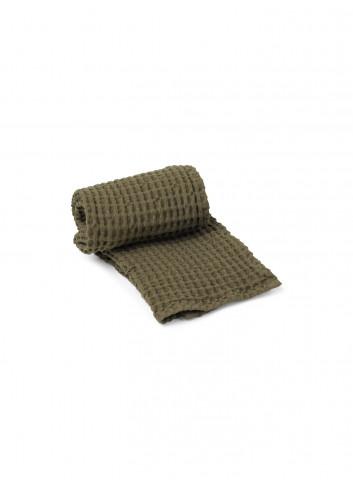 Organische Handdoek | olive