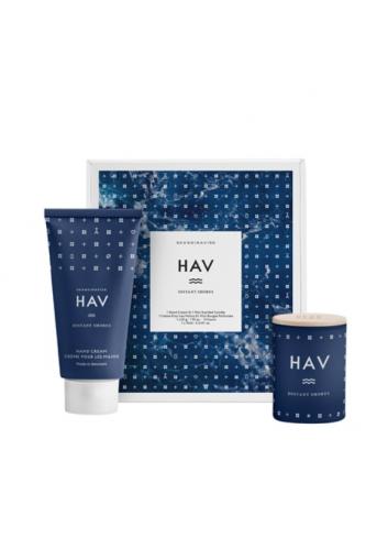 Cadeaupakket (handcrème + geurkaars) | HAV