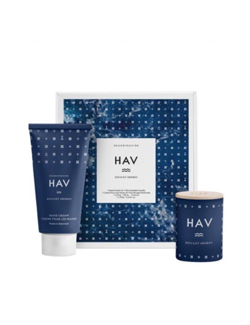 Cadeaupakket (handcrème + geurkaars)   HAV