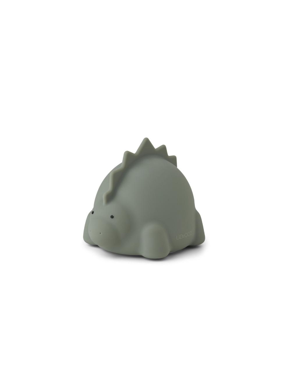 Nachtlampje Winston (oplaadbaar USB) | dino faune green