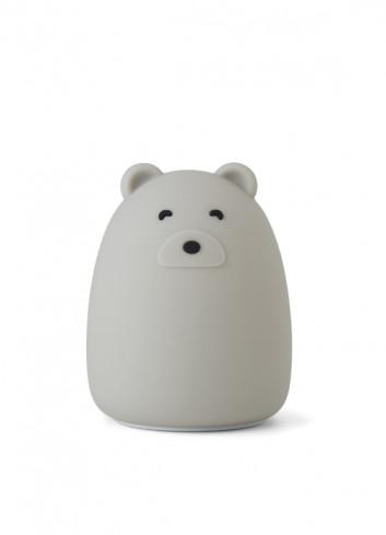 Nachtlampje Winston (oplaadbaar USB) | beer dove blue