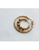 Oorbel Tire Hoop | goud