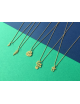 Fern Halsketting   goud