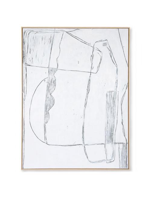 Ingekaderd Schilderij Brutalism   120x160cm