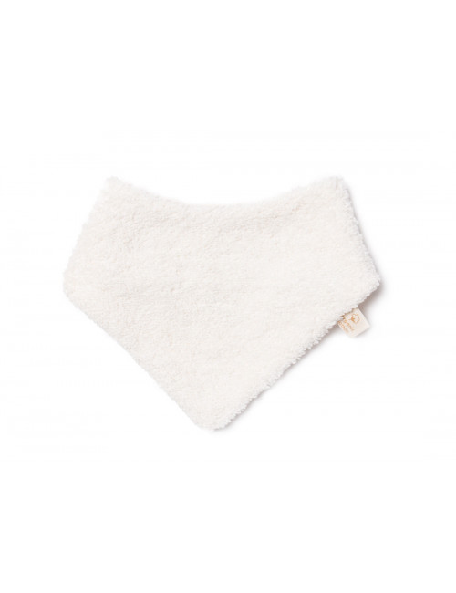 So Cute Newborn Bandana Slabbetje | natural