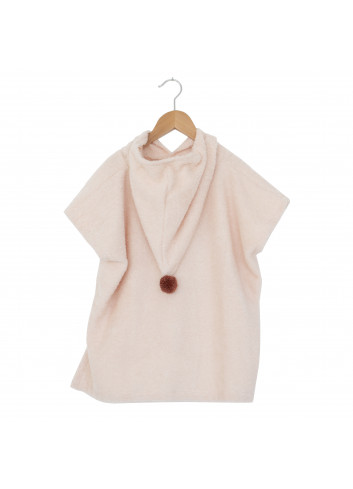 Poncho So Cute 3-5j | roze