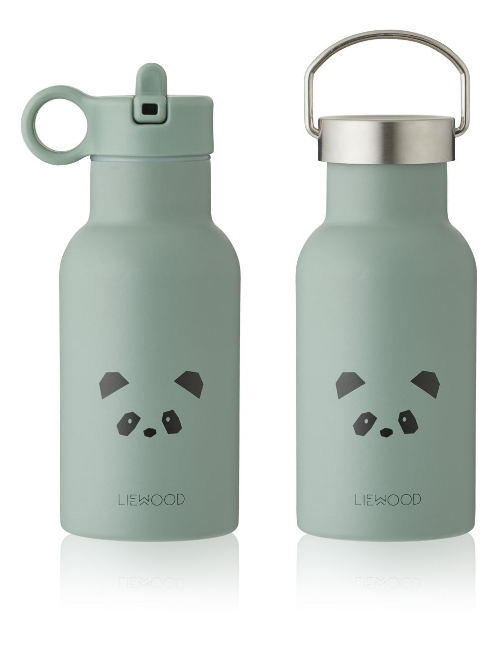 Anker Waterfles   panda/pepermunt