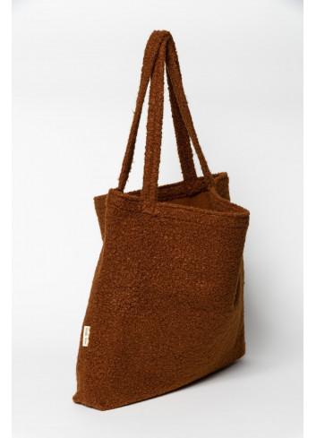 Shopper Bouclé | cacao