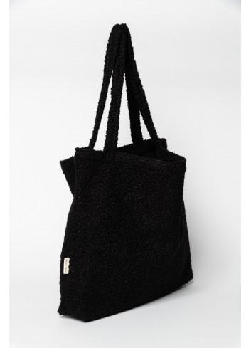 Shopper Bouclé | zwart