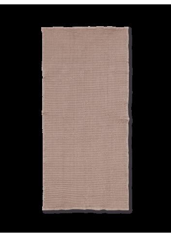 Badhanddoek Wafelstructuur | oud rose