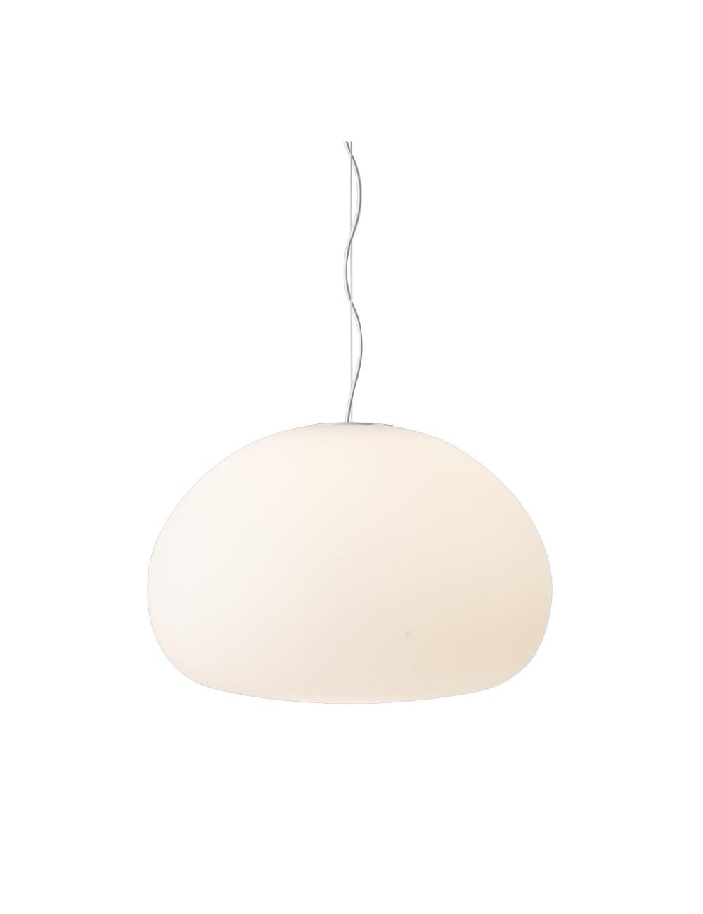 Lamp Fluid Opal White | large Ø42cm