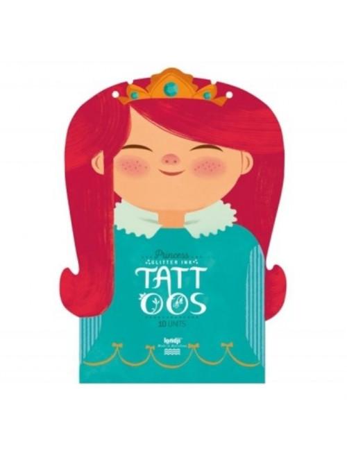 Tattoos (set van 10) | Princess