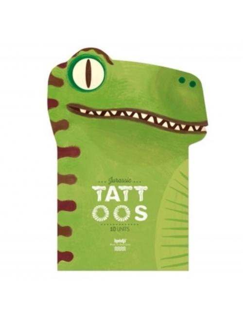 Tattoos (set van 10) | Jurassic