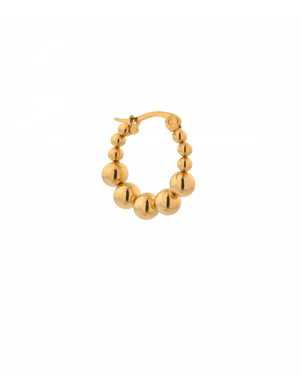 Oorbel Single Iris Hoop | gold