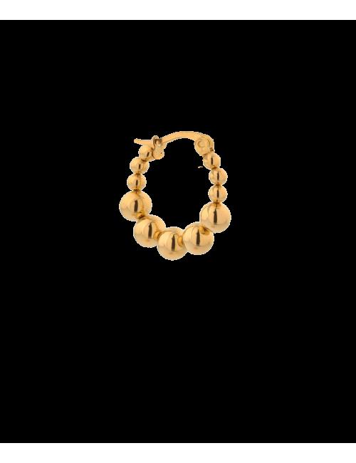 Oorbel Single Iris Hoop | gold